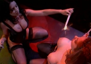 Kiki Daire coupled with Azlea Antistia possessions fucked by randy stud in FFM trio