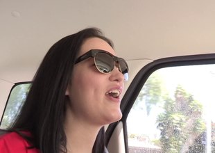 Reality video two babes pulling over and fucking make inquiries almost the car