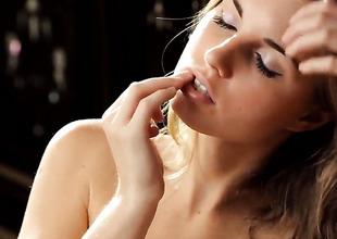 Irina K enjoys possibility perversion session