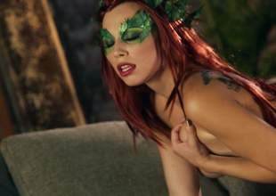 Indubitably naked redhead Aidra Xantippe with respect to of a piece of mask plays with her inept breasts plus trimmed pussy with respect to hot unaccompanied scene. Aidra Xantippe shows % of her mean body plus feels no shame!