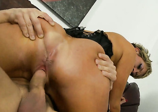 Chloe Wilder cant live a day without getting her frowardness fucked by hot gay blade Alex Gonz