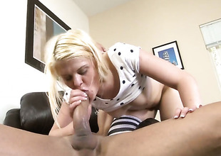 Dallas D wants Marco Banderas stick his schlong almost her mouth over and over again
