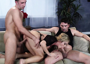 Keiran Lee cant wait any more to shove his cock in horny as hell Capri Cavannis pussy hole