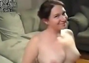 Chunky angel opens her throat wide be advantageous to cum
