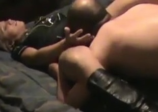 Husband Watching His Big wheel Fuck His Sluty Wife