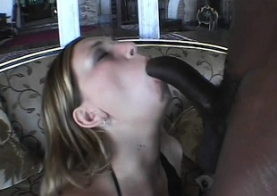 Vanilla Skye has a massive black dig up filling from the ground up be advantageous to her snatch
