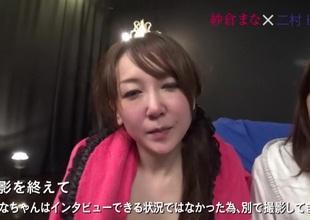 Incredible Japanese chick Miki Sunohara, Ichika Kanhata, Mana Sakura, Azusa Ito in Best college, fruity JAV instalment