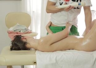 Erotic clay similarly Mirabella having sexual connection
