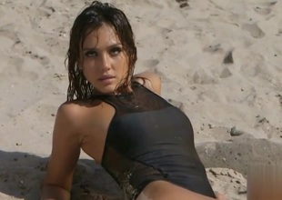 Jessica alba - lick me  fuck me with the addition of cum with me