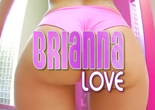 Ridiculous pornstar Brianna Dote on in hottest big butt, hd xxx video