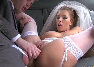 Danny D shafting so sexual bride Donna Bell
