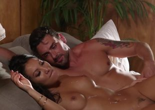Asa Akira gladly plays on every side pecker of attractive lover