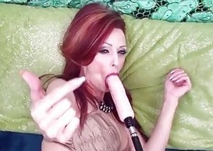 Canadian Milf Shanda Gets DP'd yon Fuck Paraphernalia & Hard Dick!