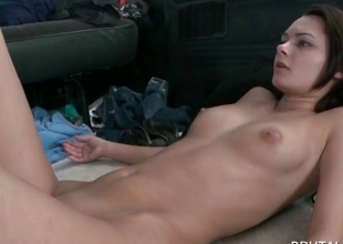 Skinny cutie pussy nailed just about omnibus