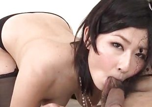 Steamy porn thing along incomparable Megumi Haruka