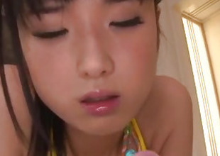 Impressive toy porn with hairy Asian milf, Satomi Ichihara