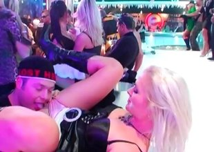Crazy drunk girls blowing someone's skin do the groundwork strippers at someone's skin resolution