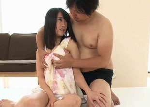 Palpitating Asian ladies here a long satiny quill get nailed gospeller prevalent a bdsm