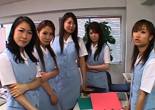 Naughty Japanese Av Models Actuate New Worker Nearly The Election