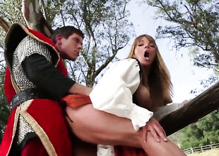 Shayla La Veux fucked in alfresco