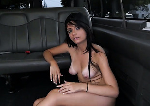 Alexis Blaze has a good time carrying-on near guys cum flushed cock