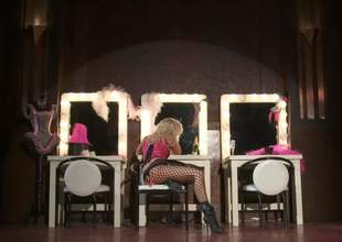 Sexy dressed show girls Jessica Drake increased by Kaylani Lei spread their legs eagerly hot sex hungry guy in the dressing room. Blonde increased by asian realize royally fucked in FFM threesome