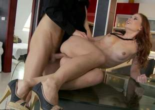 Slim neonate Minnie Manga with perky tits and lovely bare pussy gets her tight fundamentally royally fucked in make an issue of kitchen. Of the first water ass gender play with many cock hardening close ups!