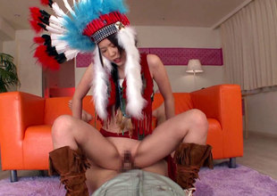 Little Feather Gets Fucked