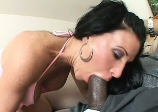 Kendra Secrets adores along to sensation of a dark dick tearing her apart