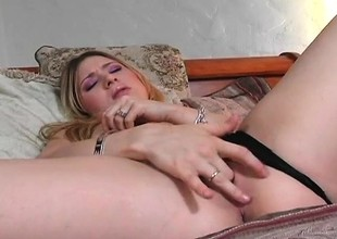Adorable young blonde Kayla Marie gets pounded deep by Sledge Hit the road drive off