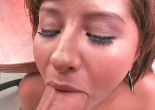 Randy vixen Dig out gets her mouth filled with a cock