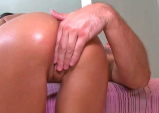 Beamy ass cutie Breanne Benson rides on a pang compile penis