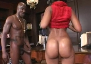 Awesome Big Butt video with Black and Ebony,Shaved scenes