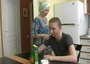 Russian Maw Fucked Hard by Step Son