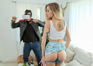 Haley Reed in VR Cuckhold Cheater - IKnowThatGirl
