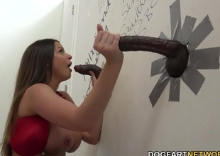 Brooklyn Chase Fucks Two Unidentifiable Black Guys